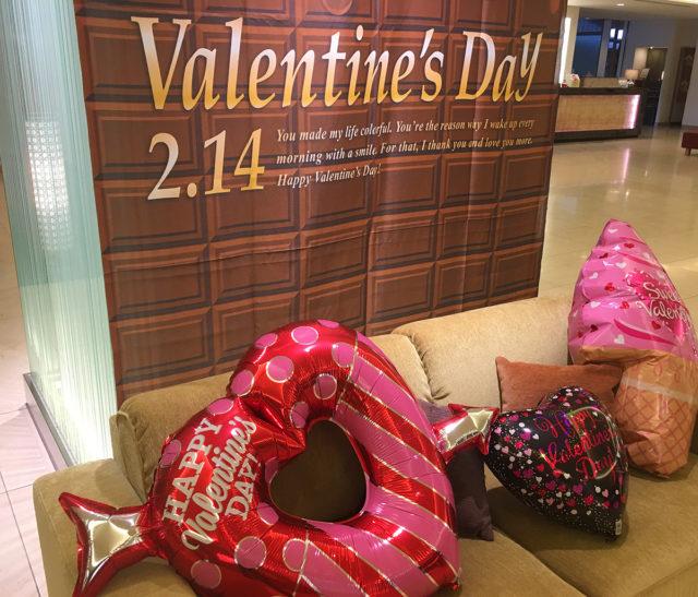 バレンタインSNSアップ装飾