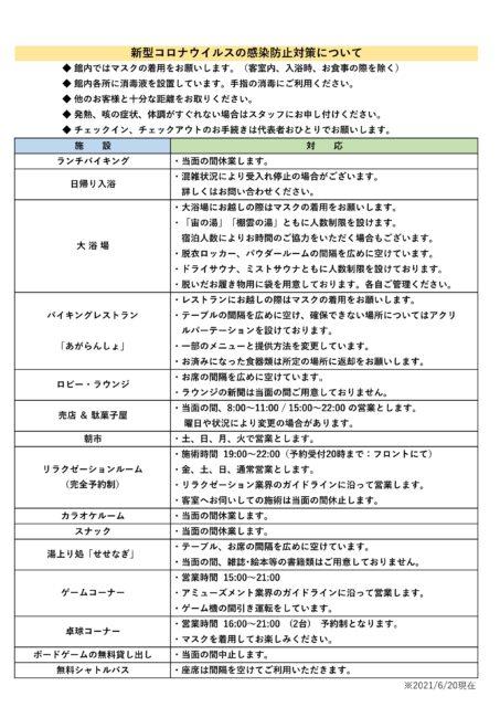 【東鳳】新型コロナウイルス感染防止対策0620