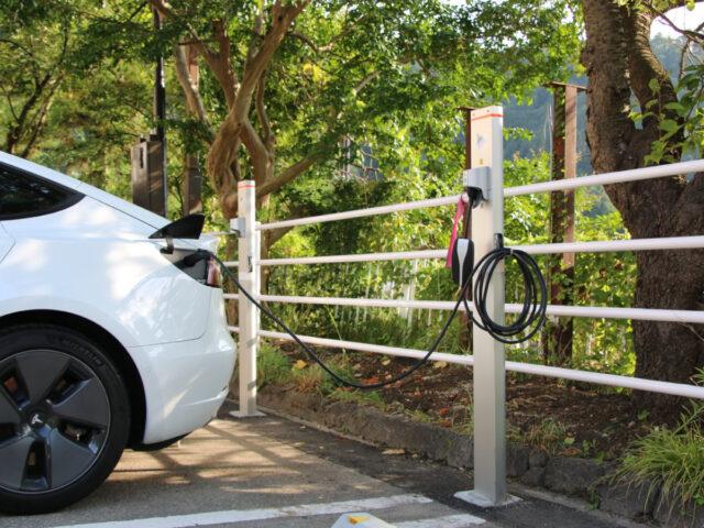 EV充電サービス導入